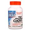 Докторс Бэст , Легкоусвояемый CoQ10 с комплексом BioPerine, 100мг, 120 растительных капсул