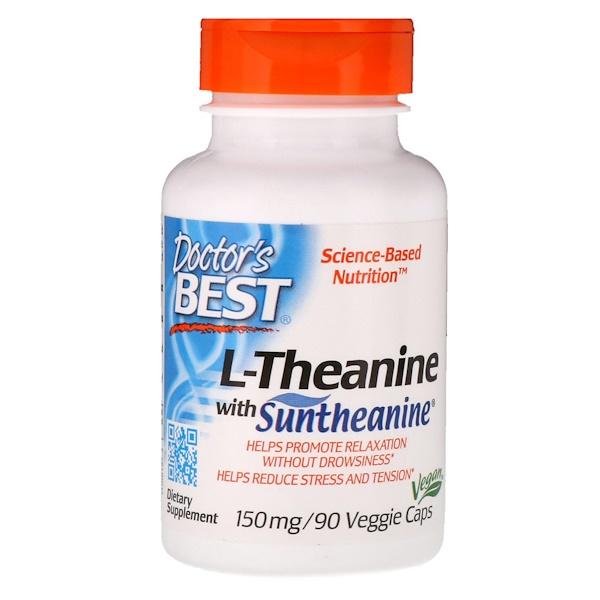 L-теанин Suntheanine, 150мг, 90вегетарианских капсул