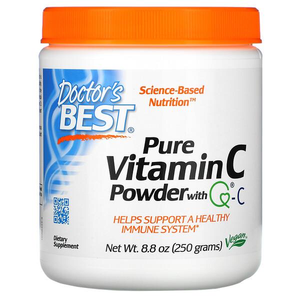 Витамин C в порошке, с Quali-C, 8,8 унции (250 г)