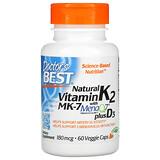 Source Naturals, витамин K2 и D3, 60 таблеток - iHerb