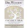 Dr. Woods, Брусковое мыло, кокосовое молоко, 149 г (5,25 унции)