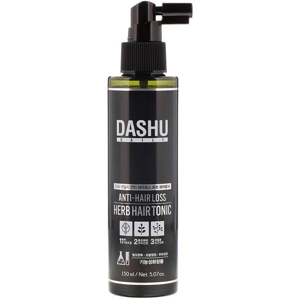 Dashu, Травяной тоник против выпадения волос, 5,07 унции (150 мл)