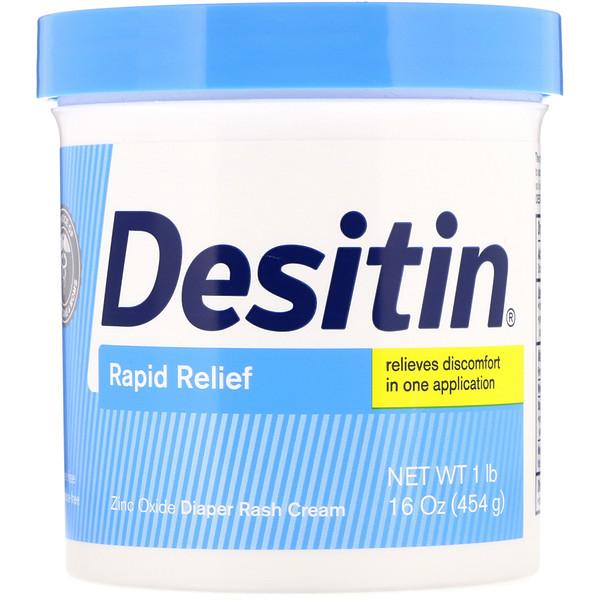Desitin, успокаивающий крем, 453 г (16 унций)