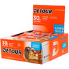 Detour, Whey Protein Bar, Caramel Peanut, 12 Bars, 3 oz (85 g) Each