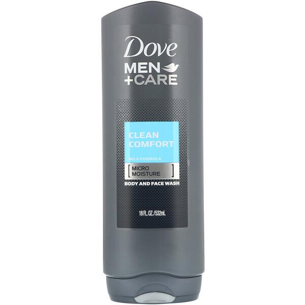 Гель для лица и тела Men+Care, аромат «Чистый комфорт», 532мл