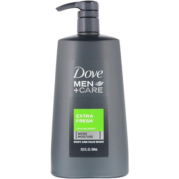 Men+Care, гель для лица и тела «Экстрасвежесть», 694мл (23,5жидк.унции)