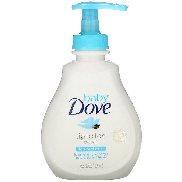 Baby, Tip to Toe Wash, Rich Moisture, 6.5 fl oz (192 ml)