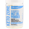 Divine Health, Dr. Colbert's Keto Zone, MCT Oil Powder, Coconut Cream, 11.11 oz (315 g)