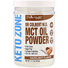 Divine Health, Dr. Colbert's Keto Zone, MCT Oil Powder, Hazelnut , 11.11 oz (315 g)