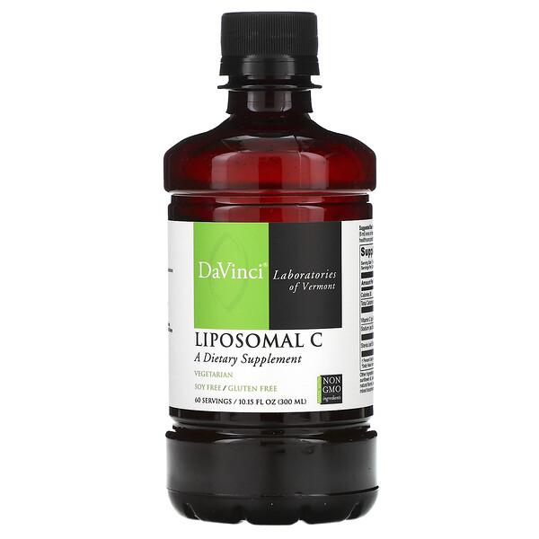 DaVinci Laboratories of Vermont, Липосомальный витамин C, 300мл (10.15 унций)