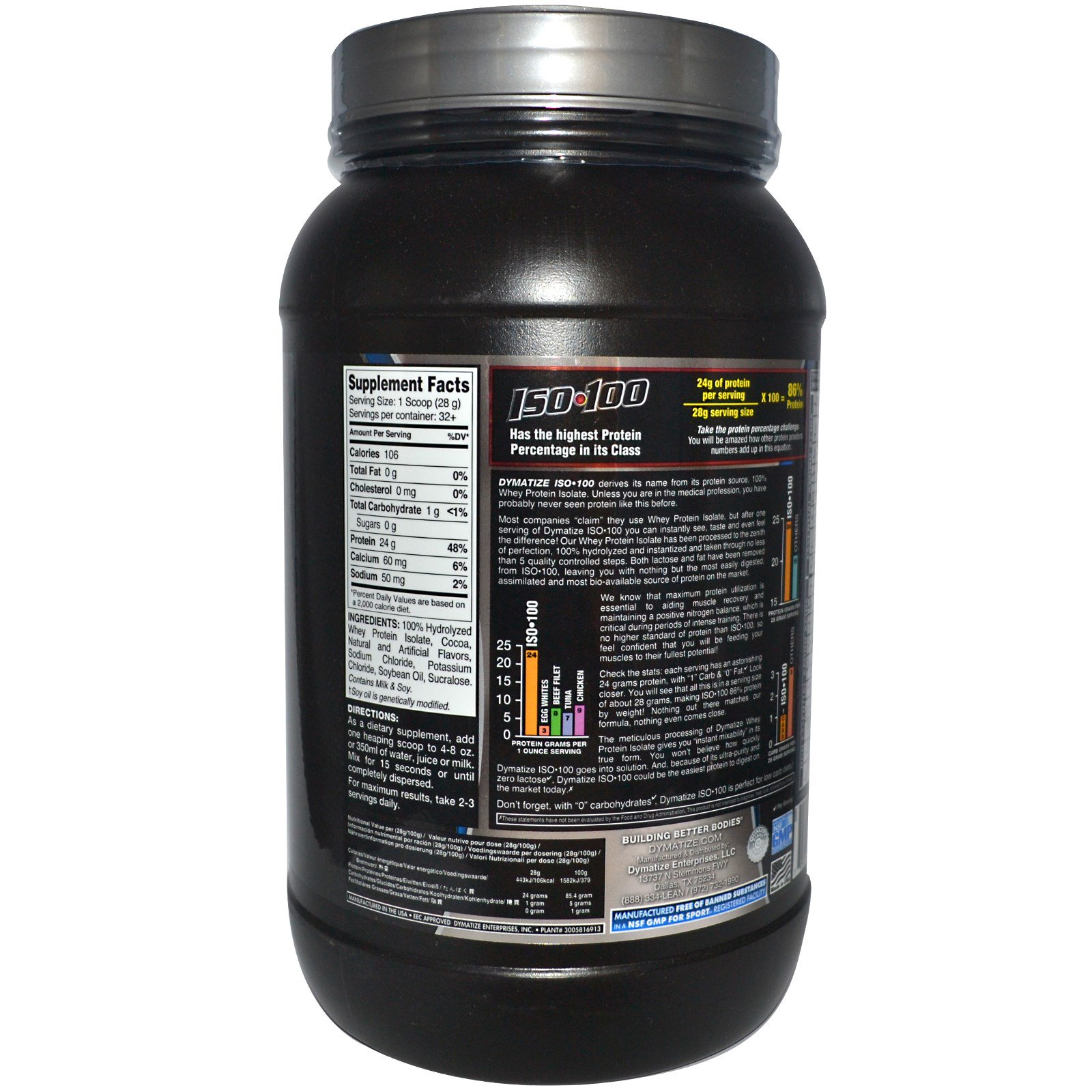 whey 100 dosering