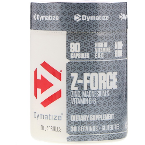 Dymatize Nutrition, Z-Force, 90 капсул (Discontinued Item)