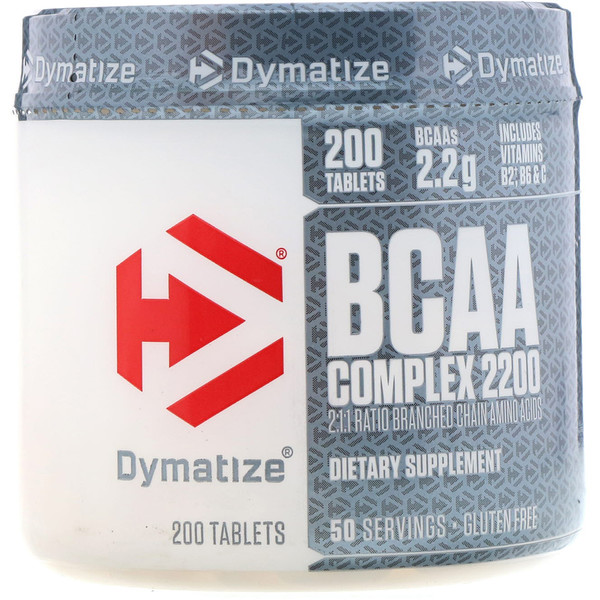 Dymatize Nutrition, BCAA Complex 2200, 200 Tablets (Discontinued Item)