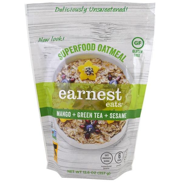 Earnest Eats, Hot & Fit Cereal, Asian Blend, 14 oz (397 g) (Discontinued Item)