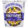 Earnest Eats, Суперфуд с овсянкой, Черника + чиа + корица, Суперфуд с черникой и чиа, 2,35 унции (67 г)