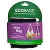 ECOBAGS, Коллекция Market, сетчатая сумка, черная, 1 сумка