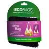 ECOBAGS, Коллекция для рынка, авоська, длинная ручка 22 дюйма, черный, 1 сумка