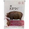 Epic Bar, Bites, Незасоленные говядина и свинина, Копченые с гикори, 2,5 унции (71 г)