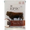 Epic Bar, Кусочки, нежные бифштексы, сладкий и пряный соус шрирача 2,5 унц. (71 г)