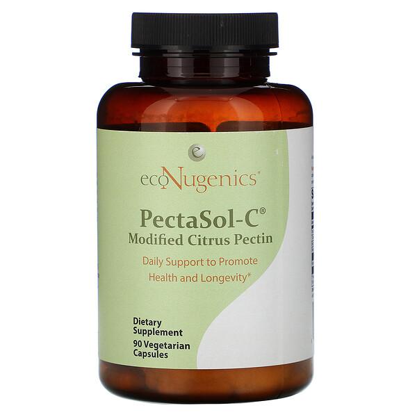 PectaSol-C, Modified Citrus Pectin, 90 Vegetarian Capsules