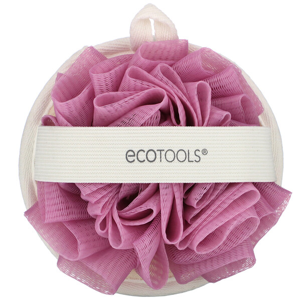 EcoTools, Двойная чистящая подушка от EcoPouf, 1 подушка
