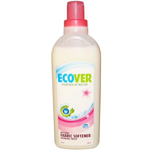 Ecover, Натуральное смягчающее средство для белья, свежий утренний аромат, 946 мл (32 жидких унции) (Discontinued Item)