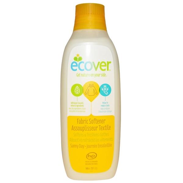 Ecover, Кондиционер для белья, солнечный день, 946 мл (32 жидких унции) (Discontinued Item)