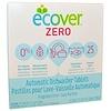 Ecover, Zero, таблетки для автоматической посудомоечной машины, без отдушек, 25 таблеток, 0,5 кг (17,6 унции)