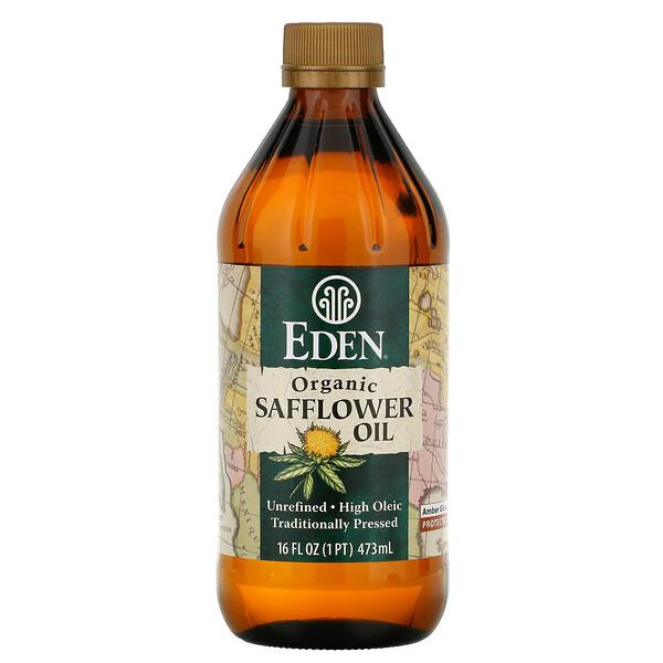 Органическое сафлоровое масло, нерафинированное, 16 жидких унций (473 мл)