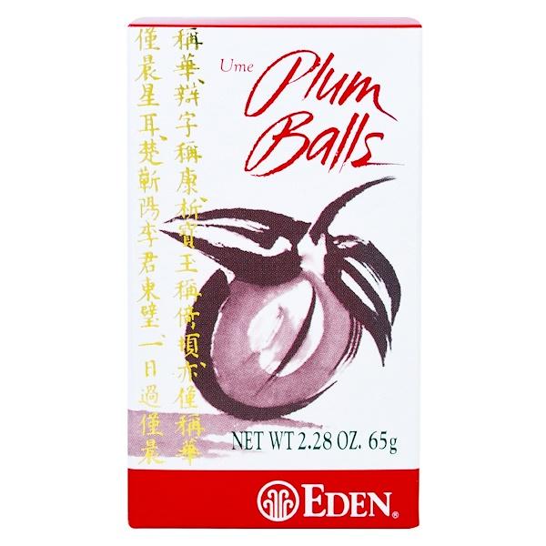 Японская слива, драже, 2,28 унции (65 г)