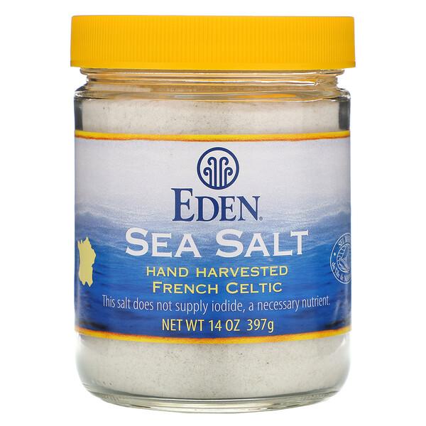 Морская соль, 14 унций (397 г)