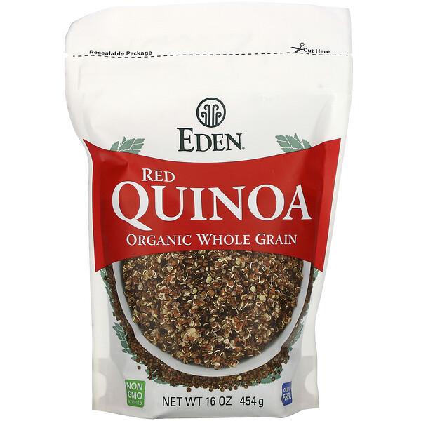 Органическое цельное зерно, красная киноа, 454г (16унций)