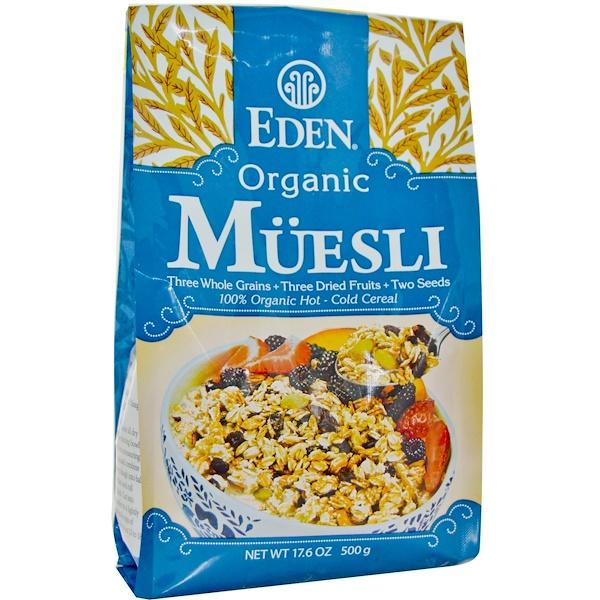 Eden Foods, Органические мюсли, 17,6 унций (500 г) (Discontinued Item)