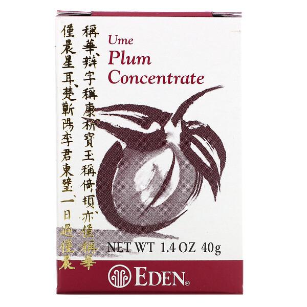 Eden Foods, Концентрат сливы умэ, 1,4 унции (40 г)