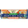 Edward & Sons, Органический продукт, Запеченые цельнозерновые чипсы из бурого риса, ЖАреный лук, 3,5 унц. (100 г)