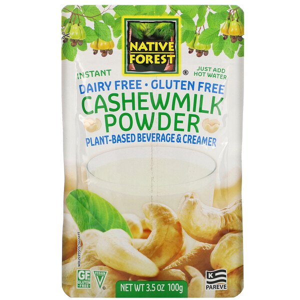 Edward & Sons, Cashewmilk Powder, 3.5 oz (100 g)