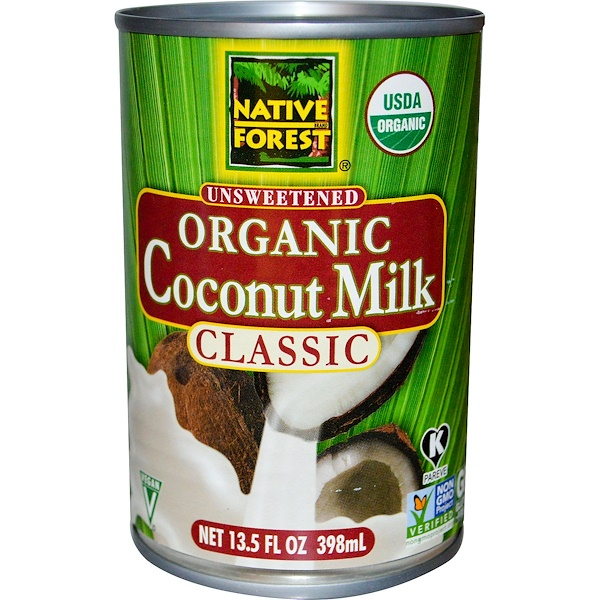 Edward & Sons, Классическое органическое кокосовое молоко без сахара, 398 мл (Discontinued Item)