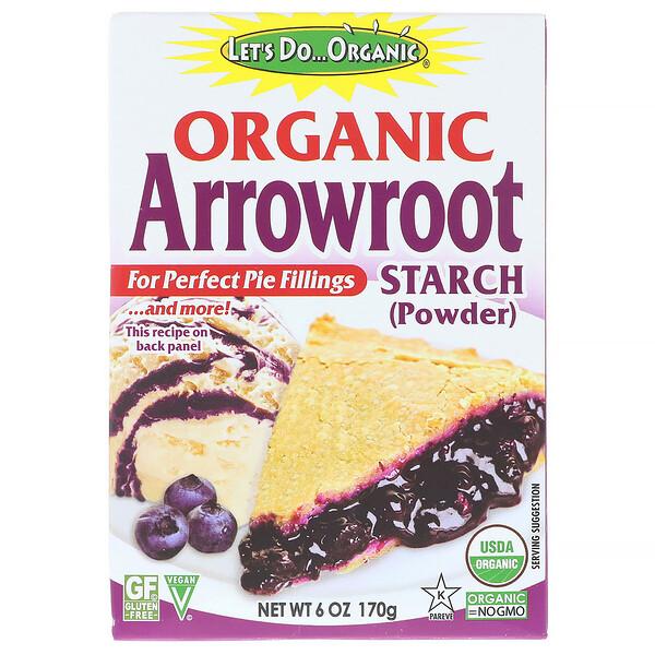 Let's Do Organic, Organic Arrowroot Starch, 6 oz (170 g)