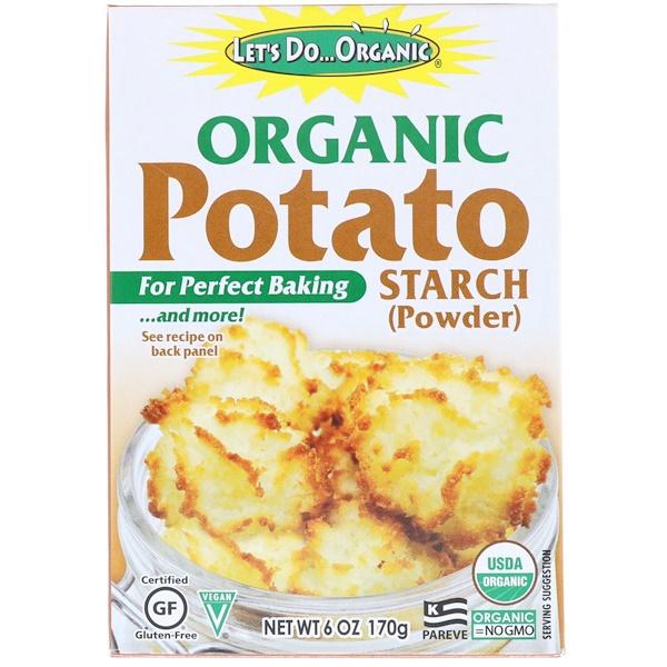 Edward & Sons, Let's Do Organic, органический картофельный крахмал, 170 г (Discontinued Item)