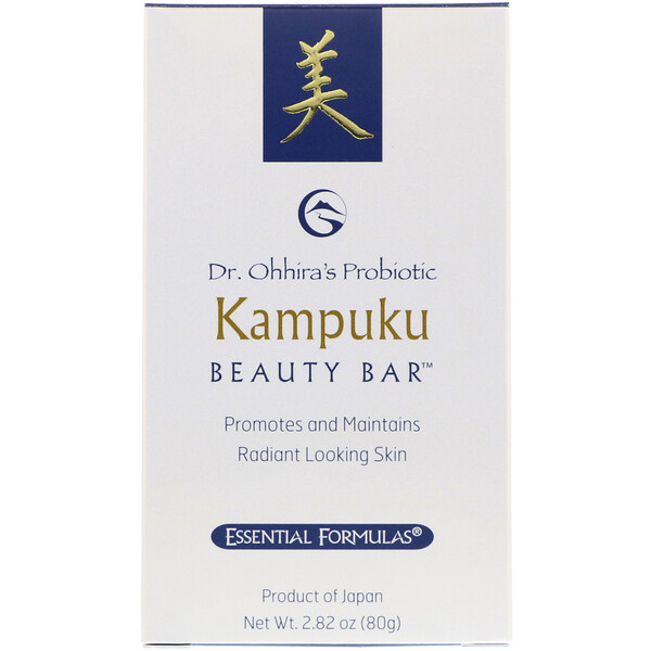 Пробиотическое мыло Кампуку, 2.82 унции (80 г)