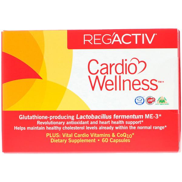 Dr. Ohhira's, Reg'Activ, Cardio Wellness, 60 капсул (Discontinued Item)