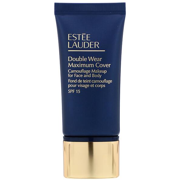 Estee Lauder, Double Wear, Maximum Cover, SPF 15, 1N3 Creamy Vanilla, 1 fl oz (30 ml)