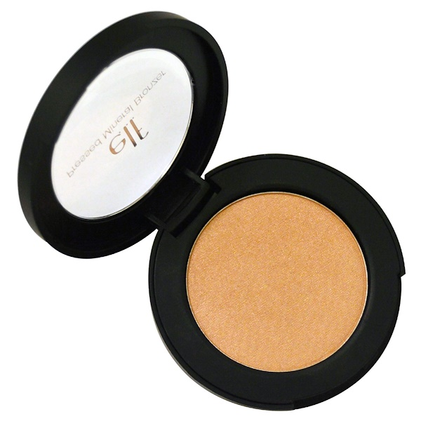 E.L.F., Pressed Mineral Bronzer, Baked Peach, 0.14 oz (4 g) (Discontinued Item)