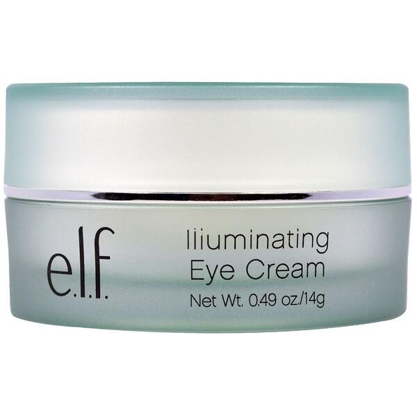 E.L.F., Осветляющий крем для глаз, 0,49 унции (14 г)