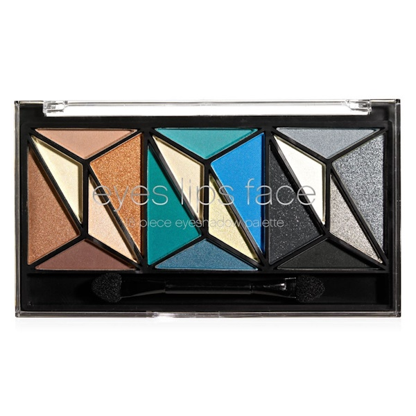 E.L.F., Geometric 18 Piece Eyeshadow Palette, 0.43 oz (12.12 g) (Discontinued Item)
