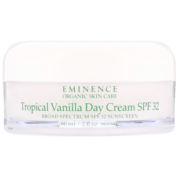 Tropical Vanilla Day Cream, SPF 32, 2 fl oz (60 ml)