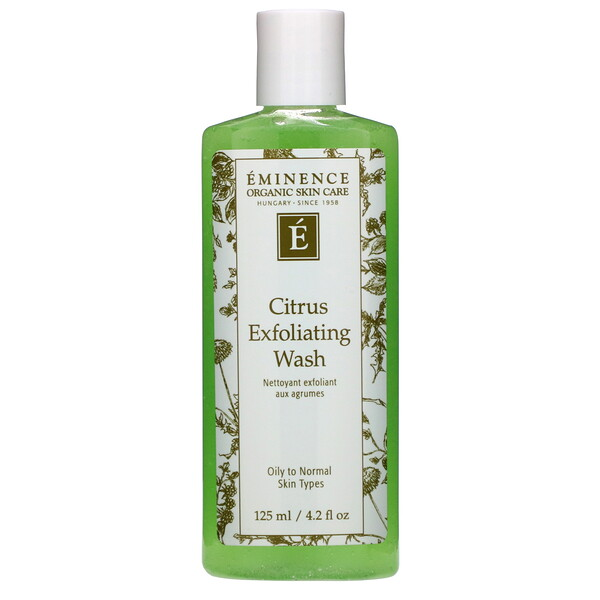 Citrus Exfoliating Wash, 4.2 fl oz (125 ml)