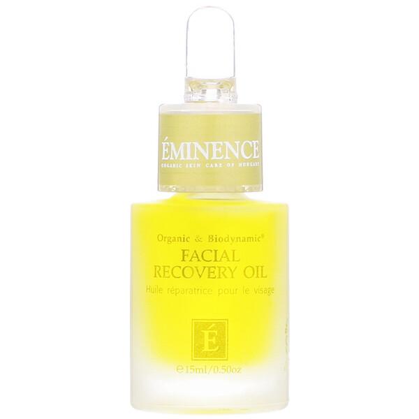 Eminence Organics, Facial Recovery Oil, 0.50 fl oz (15 ml) (Discontinued Item)