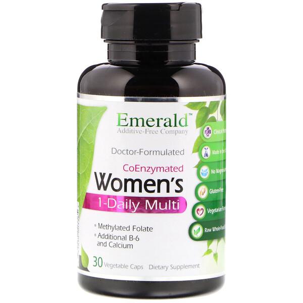 CoEnzymated Women's 1-Daily Multi, 30 растительных капсул
