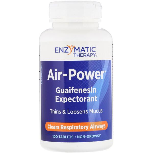 Air-Power, Guaifenesin Expectorant, 100 Tablets
